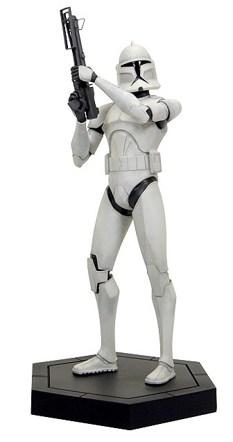 Gentle Giant Animated Maquettes - Clone Wars SWCW_CloneTrooper