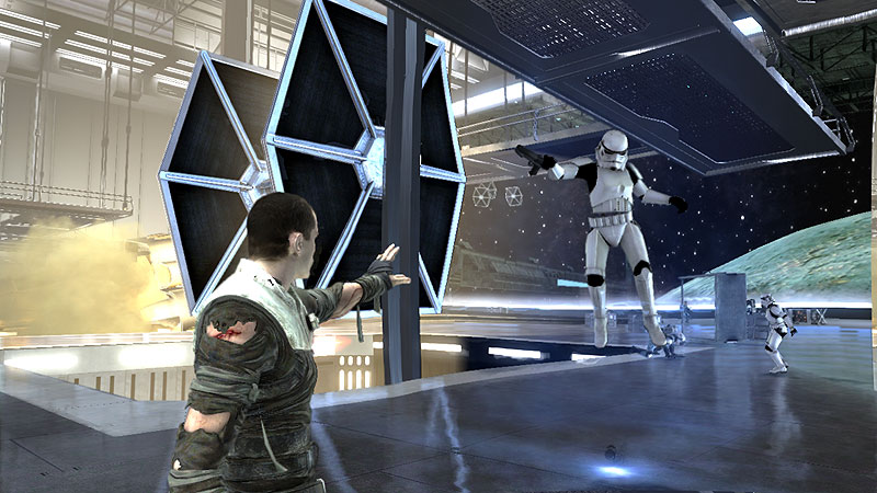 Attack on the TIE Fighter factory