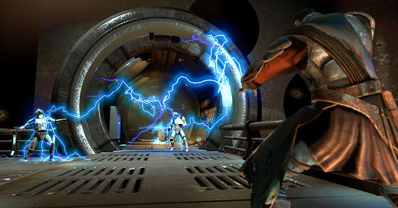 More lightning aginst the Empire!
