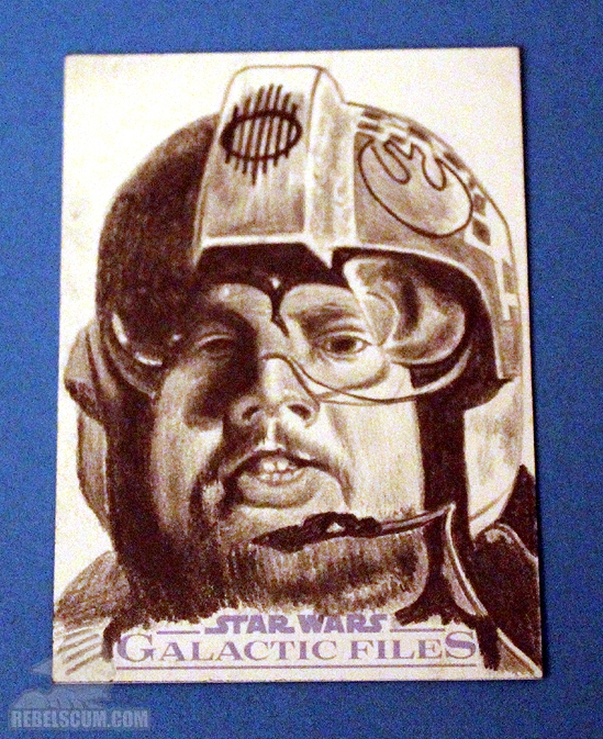 Galactic Files - Sketch Card