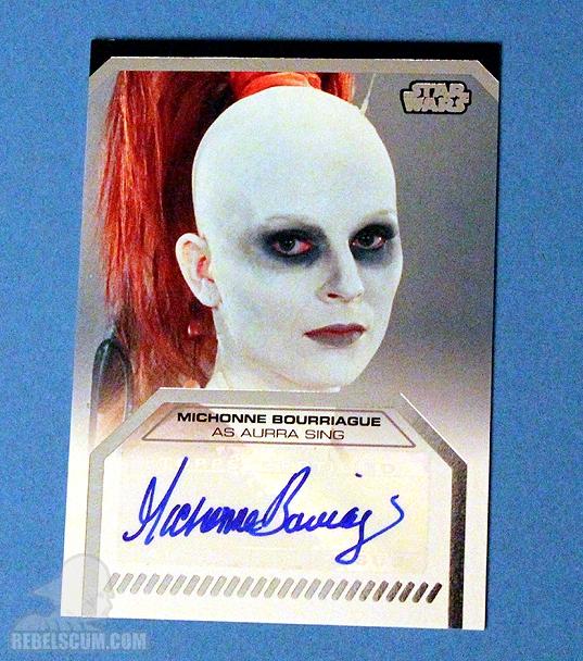 Galactic Files - Autograph Card