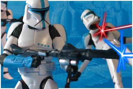 Star Wars Clone Wars Clone Troopers Clone Trooper Lieutenant Star