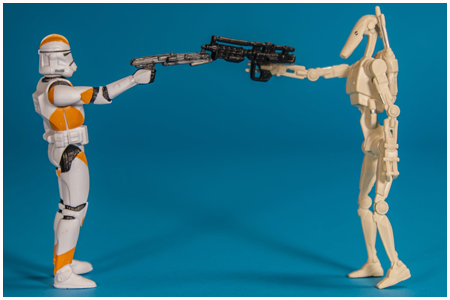 Battle Droid & 212th Battalion Clone Trooper - Mission Series: Utapau