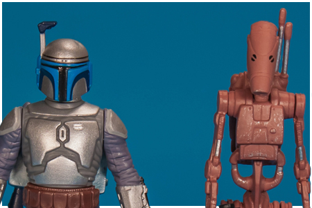 Battle Droid & Jango Fett - Mission Series: Geonosis