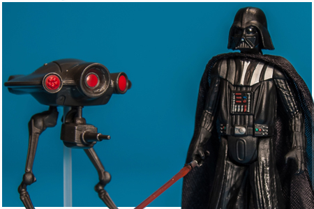Darth Vader & Seeker Droid - Mission Series: Star Destroyer