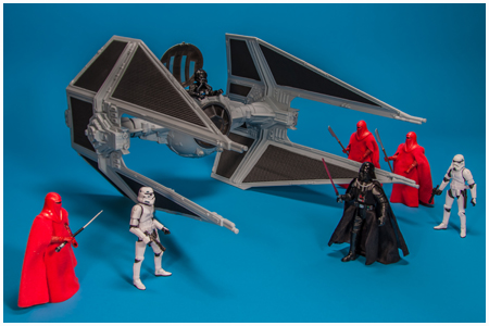 TIE Interceptor - The Vintage Collection - Hasbro 2013 - Amazon Excluisve
