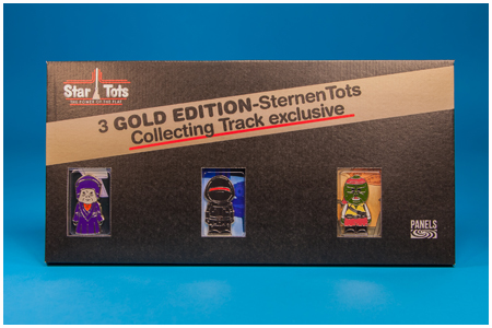 2013 CEII Celebration Europe Collecting Track Star Tots 3-Pack