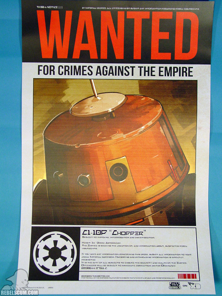 Rebels Wanted Poster - Chopper