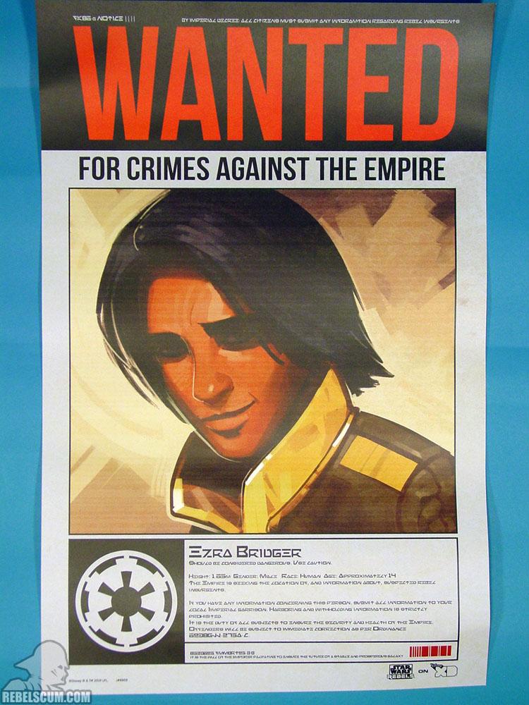 Rebels Wanted Poster - Ezra
