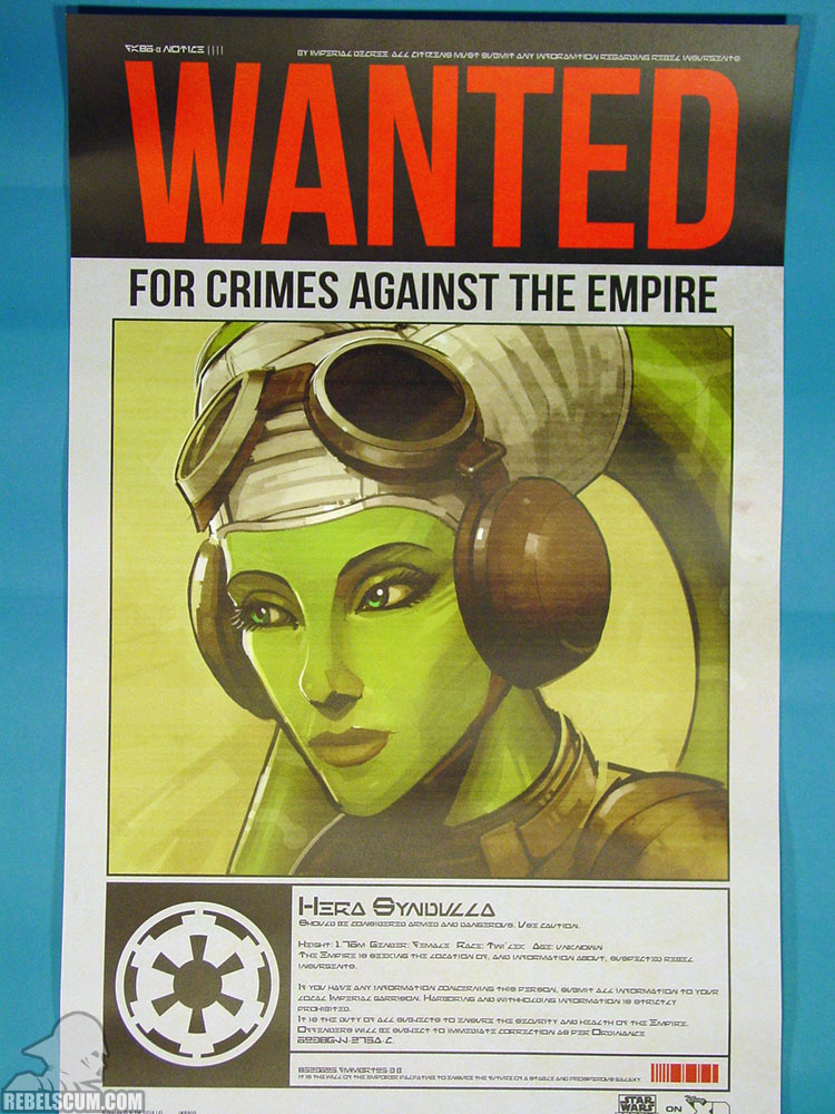 Rebels Wanted Poster - Hera
