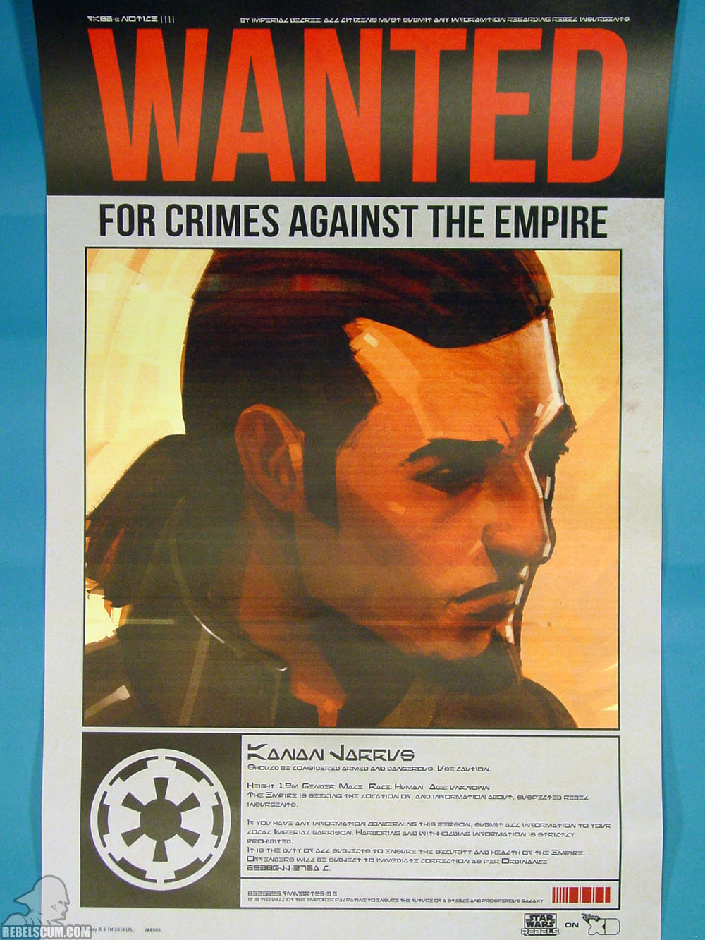 Rebels Wanted Poster - Kanan