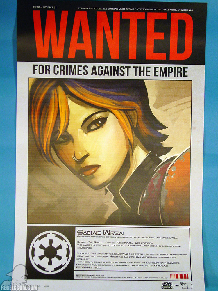 Rebels Wanted Poster - Sabine