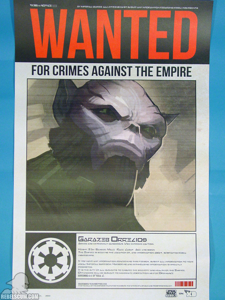 Rebels Wanted Poster - Zev