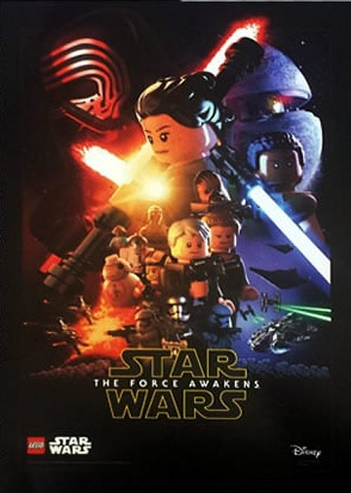 Rebelscum.com: LEGO: Exclusive The Force Awakens Poster