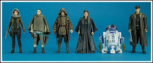The Last Jedi Hasbro's Single Carded Collection