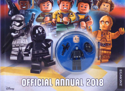 Star Wars Lego Ezra /& Chopper Minifigures Only From Annual 2017 Brand New