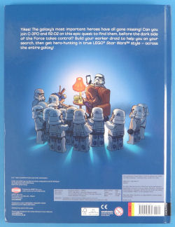 Spot The Galactic Heroes - Back Cover