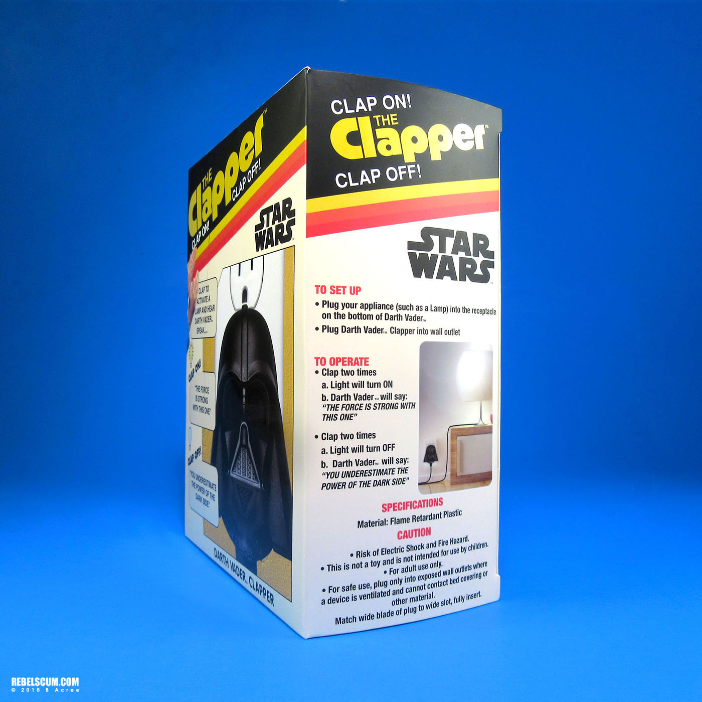 Theforce Net The Darth Vader Clapper By Joseph Enterprises