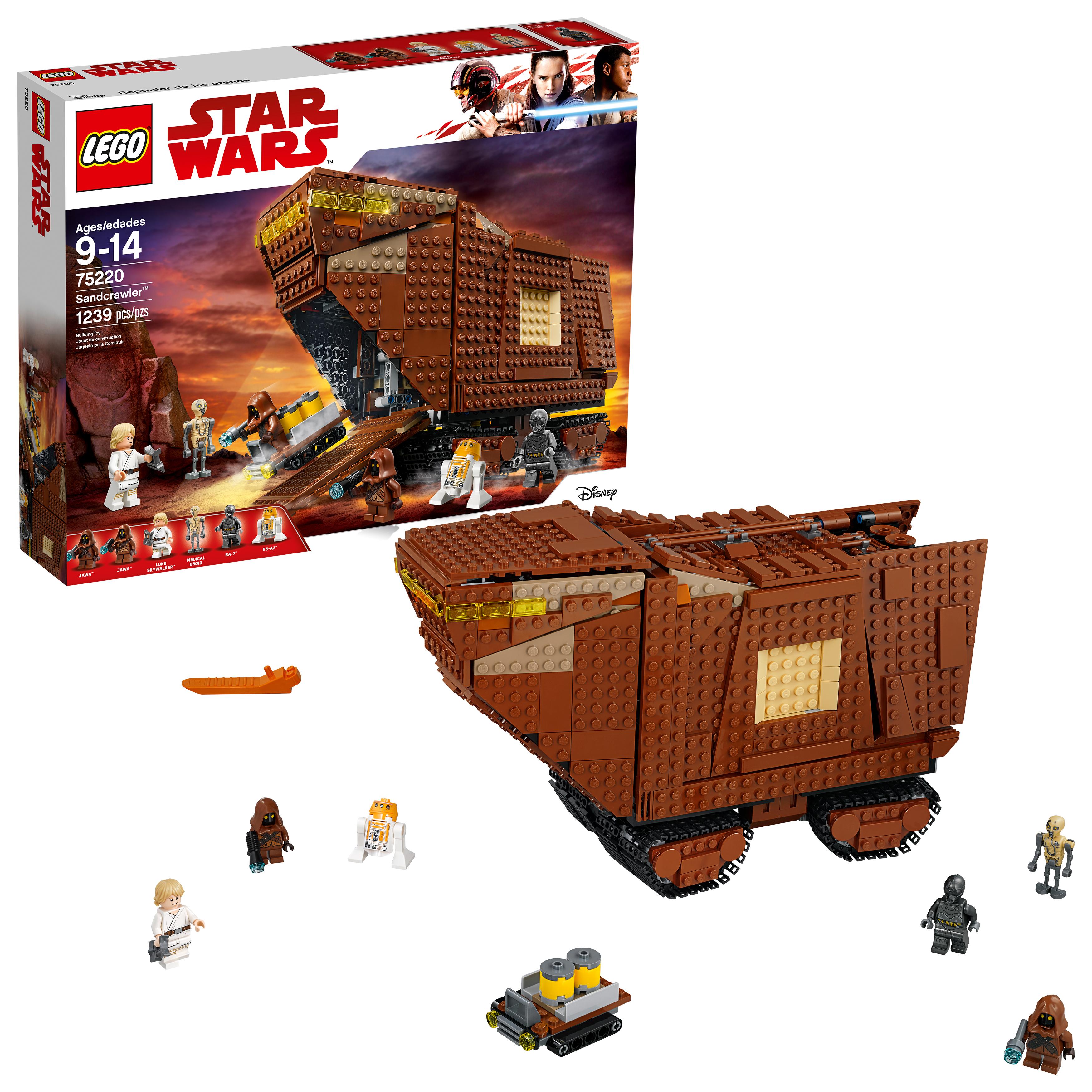 Lego 75220 sandcrawler official reveal - Croiseur interstellaire star wars lego ...