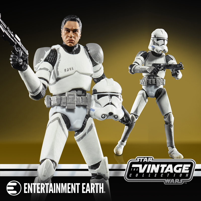 """IN STOCK STAR WARS VINTAGE COLLECTION 3.75/"""" inch 41st ELITE CORPS CLONE TROOPER"""
