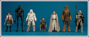 Solo Star Wars Universe ForceLink 2.0 Figures Wave 1