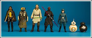 Solo Star Wars Universe force Link 2.0 Two Packs Wave 1