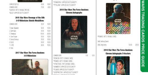 Rebelscum com: Review: Beckett Star Wars Collectibles Price