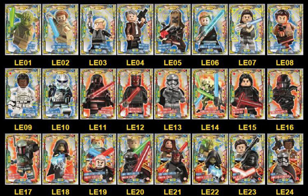 Rebelscum.com: LEGO: Star Wars Trading Cards From Blue Ocean