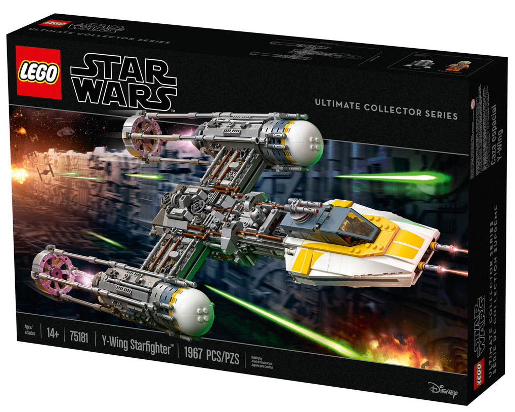 Rebelscum Com Lego 75181 Y Wing Is Official