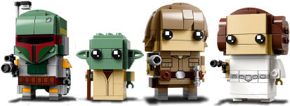 Rebelscumcom Lego New Star Wars Brickheadz Pics Released