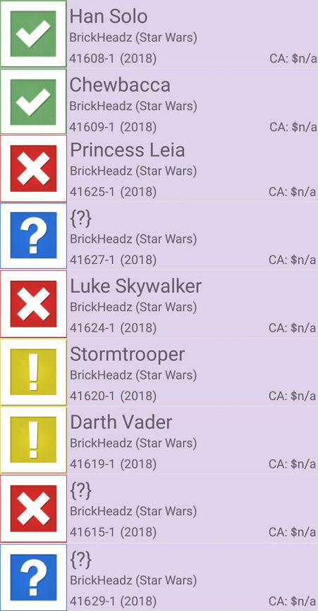 Lego Star Wars 41608 Han Solo brickheadz