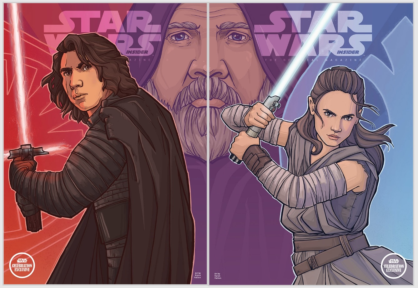SWCC Star Wars Insider Exclusive Covers