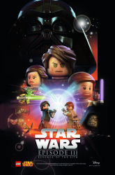 Star Wars Celebration 2015 exclusive LEGO Revenge of the Sith poster