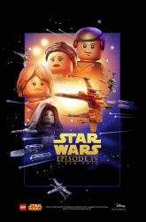 Star Wars Celebration 2015 exclusive LEGO A New Hope poster