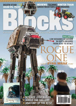Blocks Magazine with cover art by Daniel Jamieson