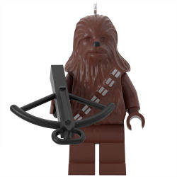Hallmark's Keepsake for 2020 includes Chewbacca in LEGO Star Wars form