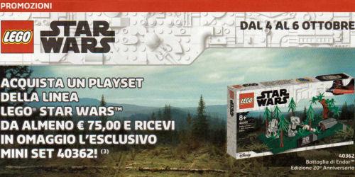 LEGO Star Wars 40362 Battle for Endor - loose