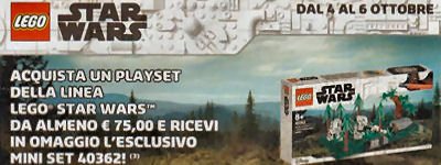 40362 Battle of Endor store calendar offer