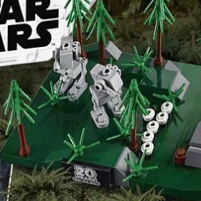LEGO Star Wars 40362 Battle for Endor - rear