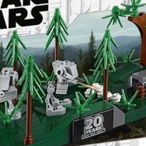 LEGO Star Wars 40362 Battle for Endor - front