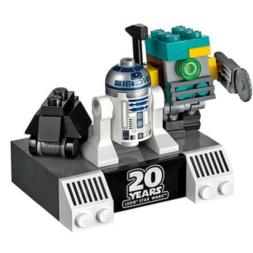 Rebelscum com: LEGO Droid Commander Polybag Gift With
