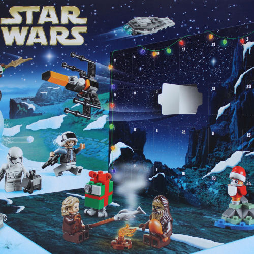 75245 LEGO Star Wars Advent Calendar - Rear