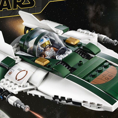 75248 Resistance A-Wing Starfighter box front