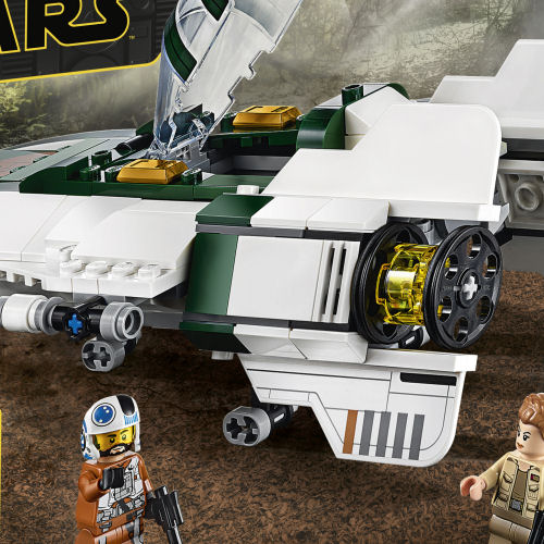 75248 Resistance A-Wing Starfighter box rear