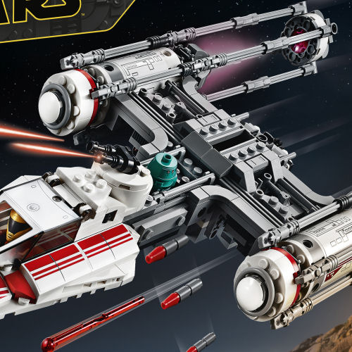 75249 Resistance Y-Wing Starfighter box front