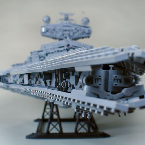 75252 Imperial Star Destroyer - Greebly Strips