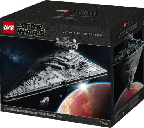 LEGO 75252 Imperial Star Destroyer box front