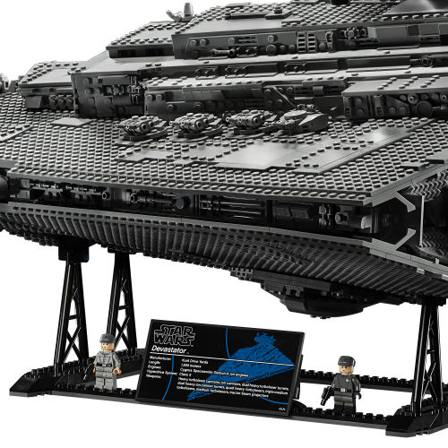 LEGO 75252 Imperial Star Destroyer side