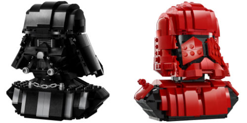 LEGO Star Wars Sithtrooper Darth Vader Exclusive Busts