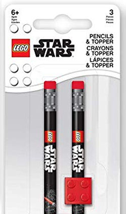 LEGO Star Wars Pencil with Topper